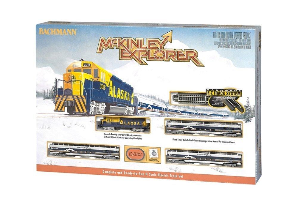 Bachmann n scale explorer train set