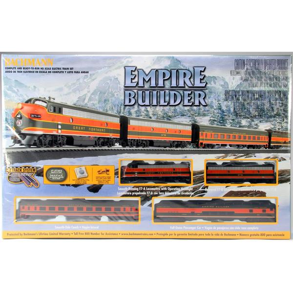 Bachmann Empire Builder Ready To Run Electric Train Set Ho