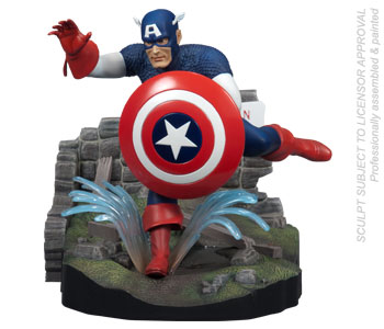 Polar Lights Model Kit - Captain America
