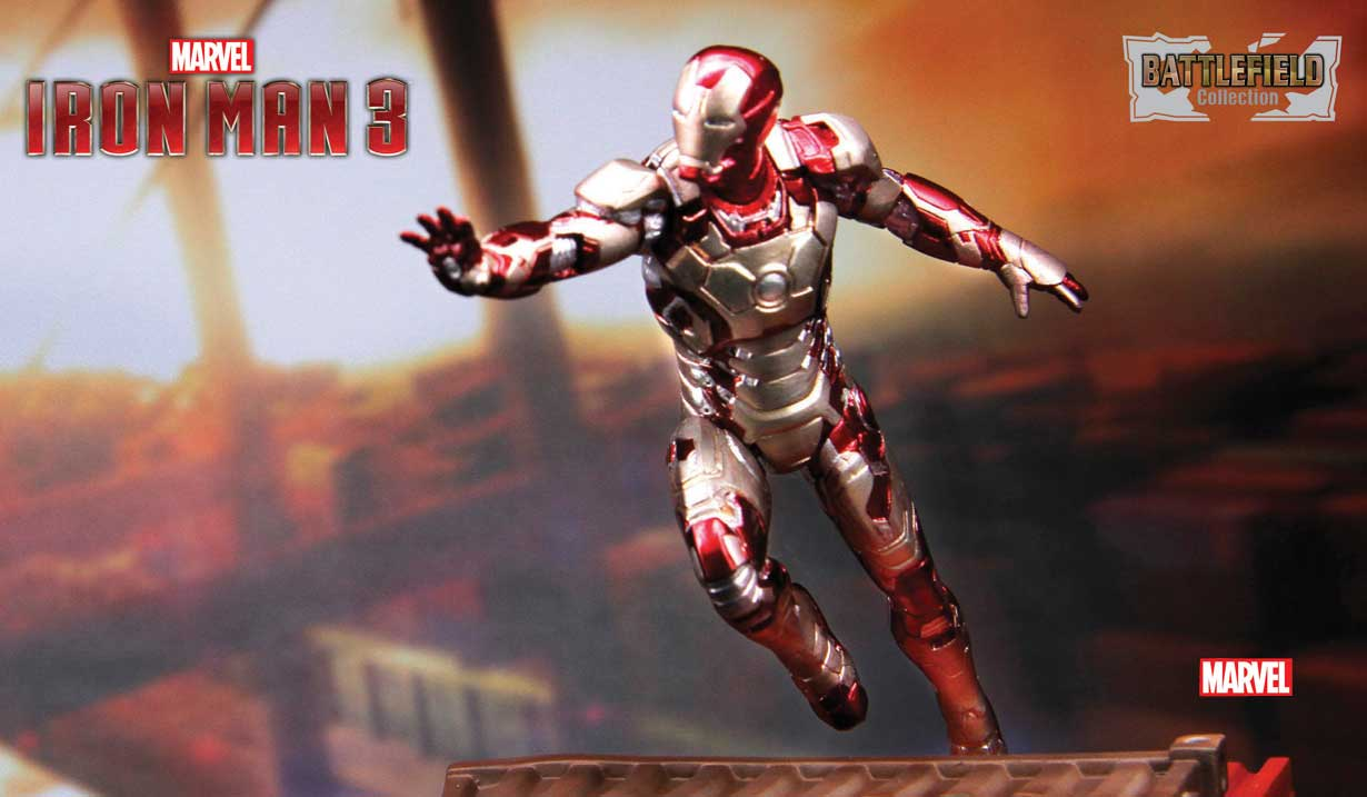 "3″ Iron Man 3 – Mark 42 Prehensile Suit ""Mark XLII"" 