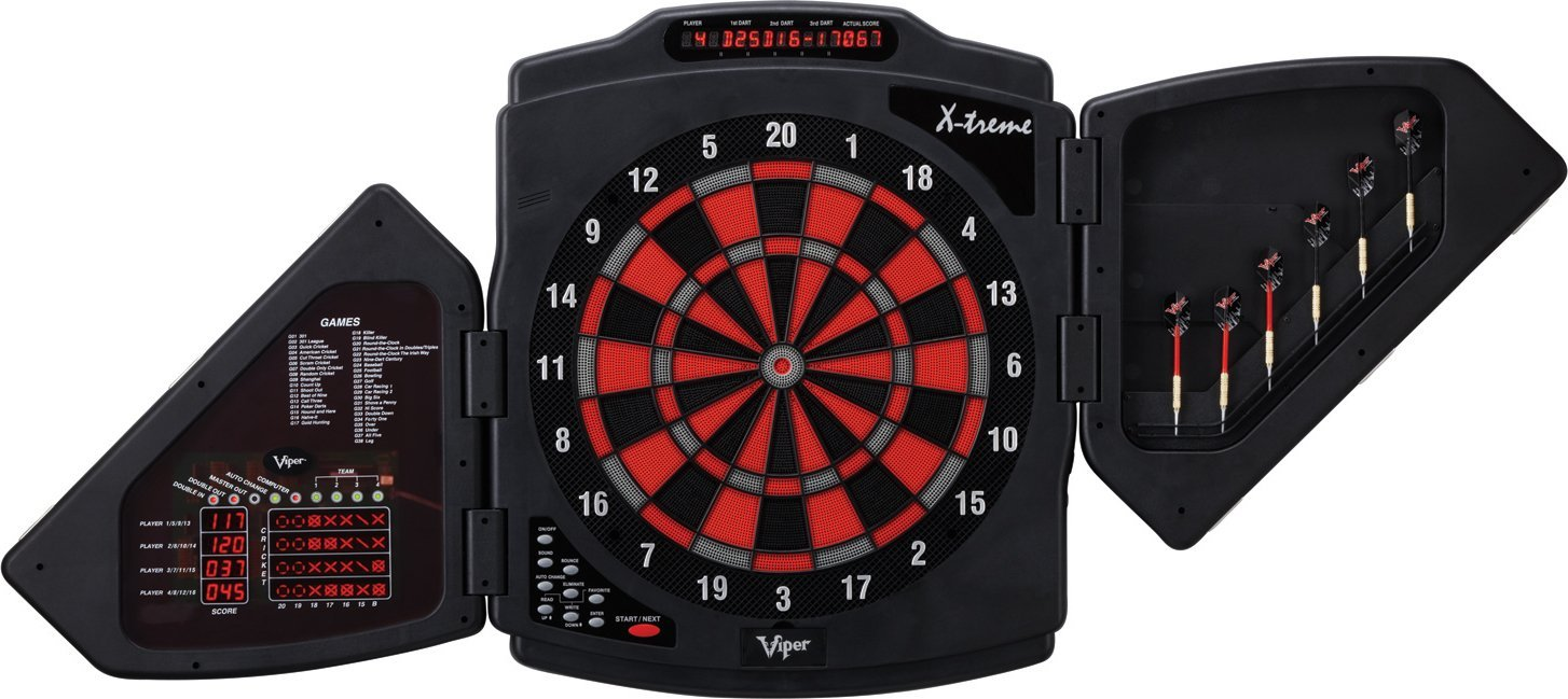 Viper X-Treme Electronic Dartboard  sc 1 st  Lake City Hobbies : electronic dartboard in cabinet - Cheerinfomania.Com